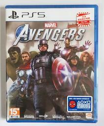 【HK出貨】PS5 游戲 漫威復仇者聯盟  Marvel's Avengers 港版中文美版英文