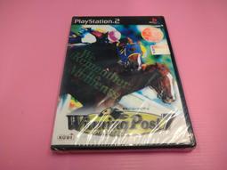 出清價! 全新未拆 網路最便宜 PS2 Winning Post7 賽馬大亨7 賣400而已