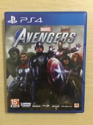 中古二手 PS4遊戲 漫威復仇者聯盟 Marvel's Avengers 中文亞版【歡樂屋】