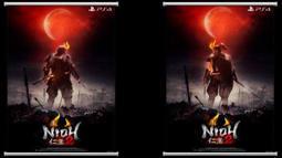 PS4 仁王 2 特典 掛軸 全新品