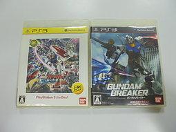 PS3 日版 GAME 2品套組 機動戰士鋼彈 極限 VS./鋼彈創壞者(41496534)