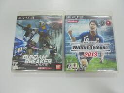 PS3 日版 GAME 2品套組 世界足球競賽2013 / 鋼彈創壞者(41293324)