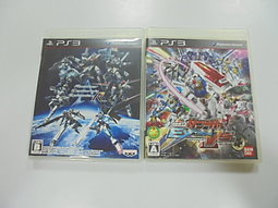 PS3 日版 GAME 2品套組 異世紀機器人大戰:R / 機動戰士鋼彈極限VS. (無說明書)(41301623)