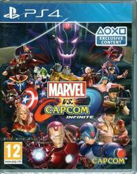 現貨 PS4遊戲 漫威vs卡普空 無限 Marvel vs. Capcom Infinite 中文版【板橋魔力】