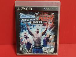 {哈帝太郎}~PS3 原版遊戲 WWE 激爆職業摔角 2011 亞英版 光碟微刮 有盒書~下標就賣!