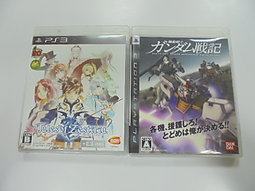 PS3 日版 GAME 2品套組 機動戰士鋼彈戰記/時空幻境 熱情傳奇(41308424)