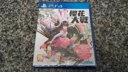 全新未拆 PS4 新櫻花大戰 中文版