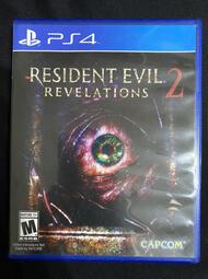 玩具主義)  PS4原版片 惡靈古堡 啟示 2 Resident Evil Revelations 2  英文版