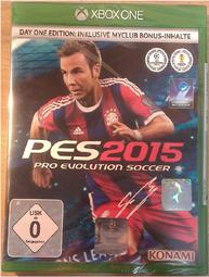 Xbox one【PES2015:Pro Evolution Soccer 世界足球競賽 實況足球】歐版Day one版