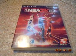 PS3 NBA2K13/NBA 2K13 英文版 直購價300元 桃園《蝦米小鋪》
