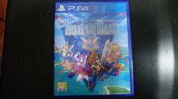 二手 PS4 聖劍傳說3 TRIALS of MANA 含特典序號