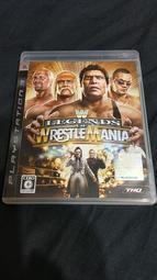 SONY PS3 WWE 激爆職業摔角 傳奇再現  WWE Legends of WrestleMania