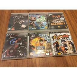 PS3 二手正版遊戲 中文版 正常讀取 小小大星球2海賊無雙2忍者外傳2殺戮地帶2 快打旋風鐵拳 跑車浪漫旅5