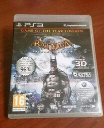 2件免運 PS3 蝙蝠俠 阿卡漢療養院 小丑大逃亡 英文版