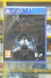 <海佃2001>PS4  Mortal Shell 致命軀殼 中文版 中文版  輔16+-全新未拆--台南現貨