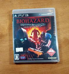 便宜賣!PS3日版遊戲- 惡靈古堡 拉昆市行動 (7-11取貨付款)