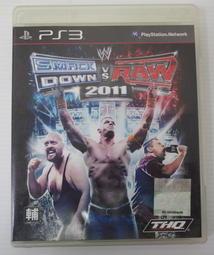 [崴勝3C] 二手現貨 PS3 WWE 激爆職業摔角 2011 英文亞版