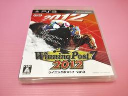 出清價! 網路最便宜 SONY PS3 2手原廠遊戲片 賽馬大亨7 2012 日文 賣225而已