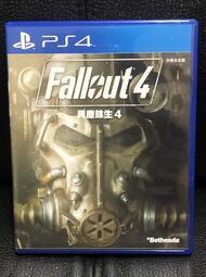異塵餘生4 中英文版 附海報 Fallout 4 PS4 遊戲 二手