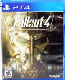免運費Sony PS4 實體遊戲片 異塵餘生 4 Fallout 4 英文版 正版遊戲 二手遊戲片