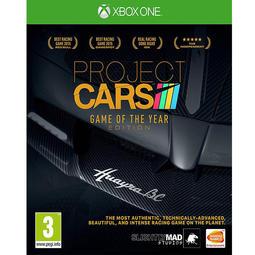 全新未拆 XBOX ONE 賽車計畫年度完整版 -英文版- Project Cars Game of the Year