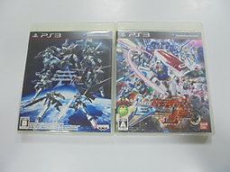 PS3 日版 GAME 2品套組 異世紀機器人大戰:R/機動戰士鋼彈 極限 VS.(41318249)