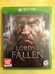 (全新現貨)XBOX ONE 墮落之王 Lords of the Fallen 亞版英文版