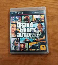 便宜賣!PS3日版遊戲- 俠盜獵車手 5(7-11取貨付款)