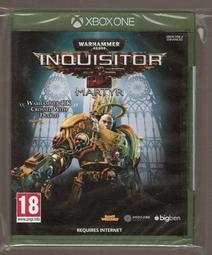 全新XBOX ONE原版片 簡中英文版 戰鎚 40K 審判者 烈士 Warhammer 40,000