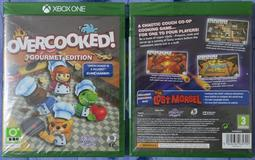 XBOX ONE Overcooked Gourmet edition 煮過頭 美食家版