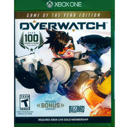(二手) XBOX ONE 鬥陣特攻 年度版 英文美版 Overwatch  Game of the Year