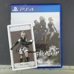 二手近全新 PS4 尼爾 人工生命 附尼爾卡片 ver.1.22474487139... 中文版 亞版