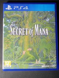 [加冰世界] (二手現貨) PS4 聖劍傳說 2 SECRET of MANA 中文版 中文 實體光碟 無刮 聖劍傳說2