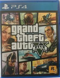 """""""電玩米奇""""PS4(二手A級) 俠盜獵車手5:GTA5-中文版~單件運費30.買兩件再折50"""