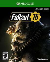 全新未拆 XBOX ONE 異塵餘生76 中文亞版 異塵餘生 Fallout 76 庇護所 避難所 Vault FO76