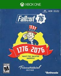 全新未拆 XBOX ONE 異塵餘生76 300週年紀念版 中文亞版 異塵餘生 Fallout 76 庇護所 FO76