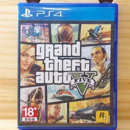 <電玩戰場>(二手)PS4 俠盜獵車手 5 中文版 Grand Theft Auto 5