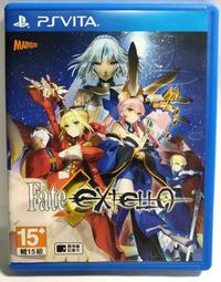 二手 PSV Fate EXTELLA  中文版 PSVita PS Vita