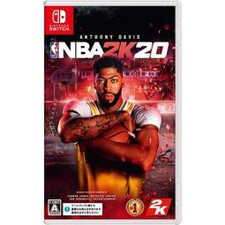 【現貨不用等】NS Switch NBA 2K20 美國職業籃球賽 中文版 NBA2K20 NBA 2020