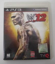 [崴勝3C] 二手 SONY PS3 WWE 12 美國職業摔角12