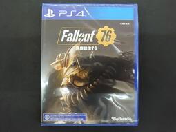 *長榮2001* PS4 異塵餘生 76 Fallout 76 (中英文合版) 限18+ --全新未拆--台南現貨--