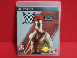 {哈帝太郎}~PS3 原版遊戲 WWE 2K15 勁爆美國職業摔角 英亞版 光碟無刮 有盒書~下標就賣!